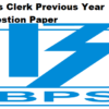 Ibps Clerk Previous Year Question Paper PDF Download