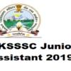 UKSSSC Junior Assistant 2019|Stenographer|PA|vacancy